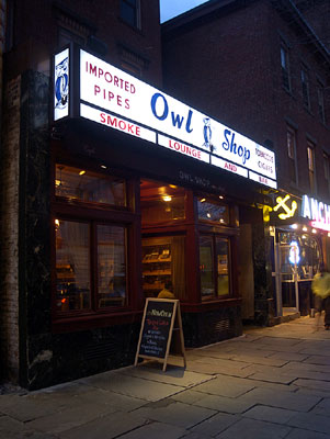 The Owl Shop - Attraction - 268 College St, New Haven, CT, 06510